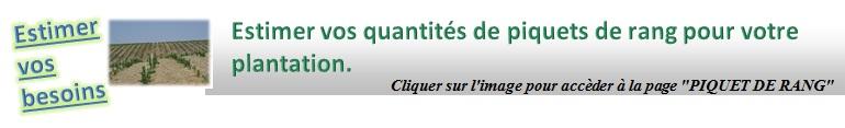 """Nouveaux outils de calcul dans les pages technique """"PIQUETS DE RANG"""""""